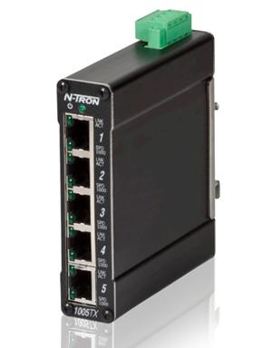 1005TX Industrial Ethernet Switch - Công tắc mạng công nghiệp N-Tron 1005TX