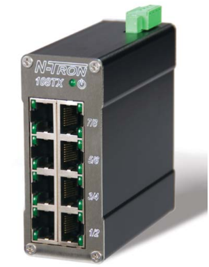 108TX N-Tron Redlion - Switch mạng 108TX 8 Port RJ45 10/100 Base