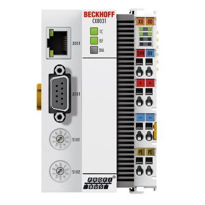 BC3100 PROFIBUS Bus Terminal Controller, BC3100 Beckhoff