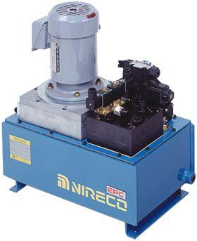 Bộ nguồn thuỷ lực M121-AM Nireco - Nireco Vietnam