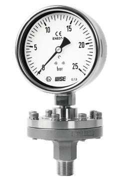 Đồng hồ đo áp suất có màng P710/ P720/ P730 Wise Control