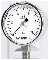 Đồng hồ đo áp suất nước, khí nén P252 WISE Control