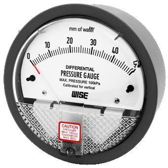 Đồng hồ đo chênh áp P880 Wise Control - Wise Vietnam