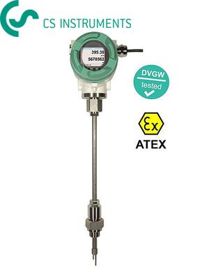 Đồng hồ đo lưu lượng khí nén công nghiệp VA550 CS Instrument - CS Instrument Vietnam