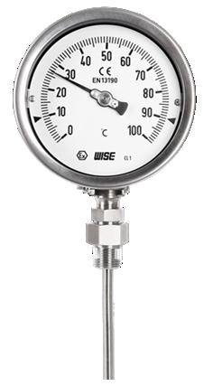 Đồng hồ đo nhiệt độ chất lỏng ăn mòn điều chỉnh được T290