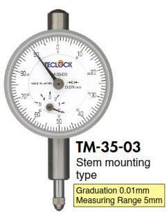 Đồng hồ so TM-35-03 Teclock - Teclock Vietnam