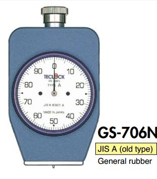 GS 706N Teclock - Đồng hồ đo độ cứng cao su GS706 Teclock Vietnam