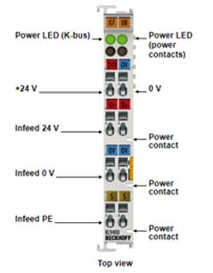 KL9400 Beckhoff - Module nguồn K-Bus KL9400 Beckhoff Vietnam