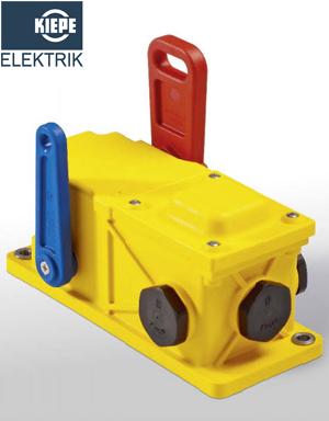 PRS 101, PRS102 Kiepe - Công tắc dật dây bảo vệ an toàn băng tải Kiepe