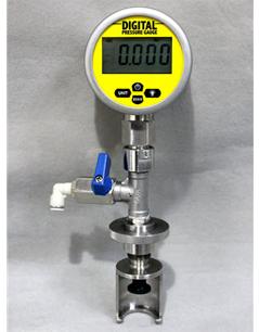 PVG-P Đồng hồ đo áp suất, đo chân không trong chai AT2E