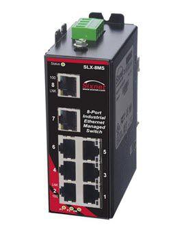 Thiết bị chuyển mạch Ethernet SLX-8MS Red Lion
