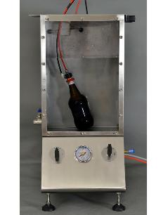 SSA-ECO AT2E - Thiết bị kiểm tra rò rỉ khí nắp chai nước có gas SSA-ECO