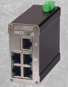 105TX Industrial Ethernet Switch - Switch mạng 5 port 105TX N-Tron Vietnam