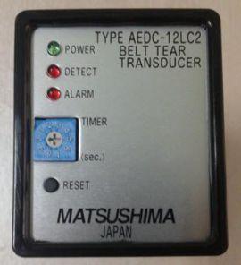 Bộ chuyển đổi tín hiệu cảm biến báo rách băng tải AEDC Matsushima