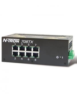 Công tắc chuyển mạch Ethernet công nghiệp 708TX N-Tron Redlion - 708TX Redlion Vietnam