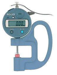 Đồng hồ đo độ dày vật liệu hiện thị số hãng Teclock Japan