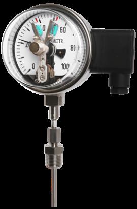 Đồng hồ đo nhiệt độ tiếp điểm điện 3 kim T511 / T512 Wise