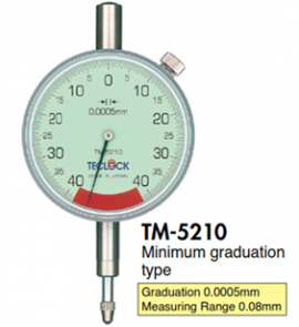 Đồng hồ so 0.0005mm TM-5210 Teclock