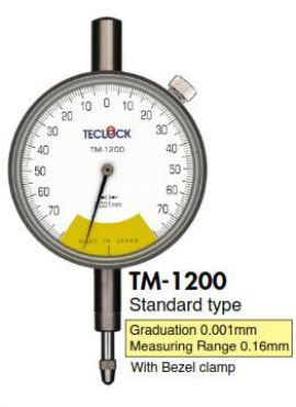 Đồng hồ so giải đo thấp TM-1200/TM-1211/TM-5210 Teclock