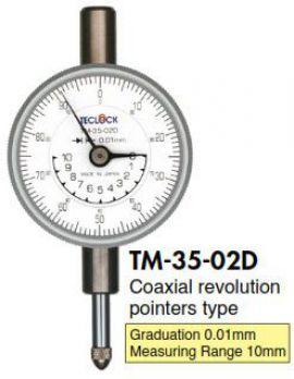 Đồng hồ so TM-35-02D Teclock - Teclock Vietnam