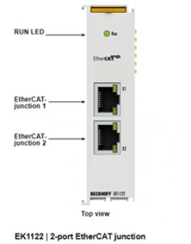 EK1122 Beckhoff Vietnam - Module EtherCAT EK1122 Beckhoff