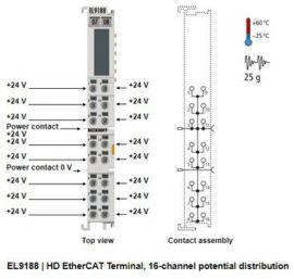 EL9188 EtherCAT Terminal, EL9188 Beckhoff