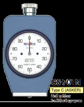 Đồng hồ đo độ cứng cao su GS-701N / GS-701G Teclock