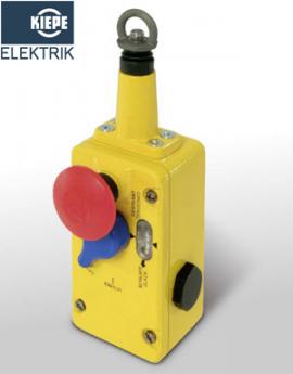 LRS 004, LRS 022, LRS 031 Kiepe - Công tắc giật dây bảo vệ băng tải Kiepe