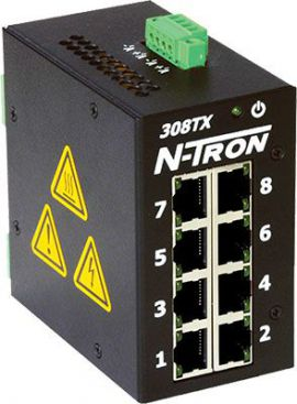 N-Tron 300 Unmanaged Switches - N tron 300 Red lion