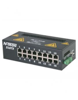 Switch mạng công nghiệp 16 port RJ45 10/100BaseTX model 516TX-A N-Tron Redlion Vietnam