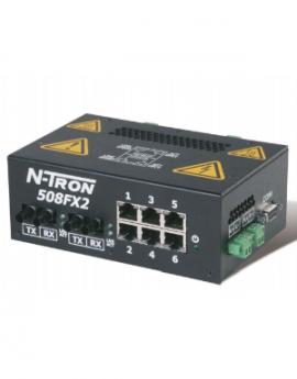 Switch mạng công nghiệp 6 port 508FX2-A-ST N-tron Redlion - Redlion Vietnam