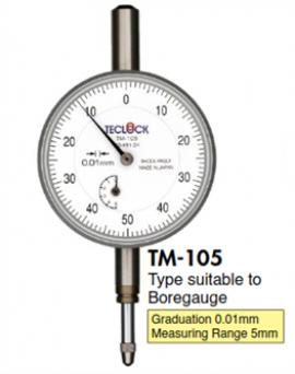 TM-105 / TM-105W  Đồng hồ so Teclock - Teclock VietNam